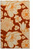 rug #529125 |  orange natural rug