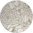 rug #529161 | round beige natural rug