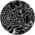 rug #529165 | round white rug
