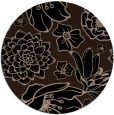 rug #529173 | round beige rug