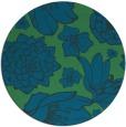 rug #529241   round blue rug