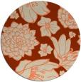 rug #529358 | round natural rug