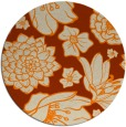 rug #529477 | round beige natural rug