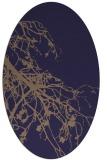rug #530325 | oval beige natural rug