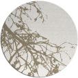 rug #530921 | round beige rug