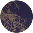 rug #531029 | round blue-violet rug