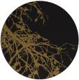 rug #531037 | round black natural rug