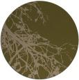 rug #531041 | round brown rug