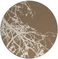 rug #531073 | round beige natural rug