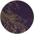 rug #531153 | round purple natural rug