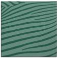rug #531681 | square blue-green stripes rug