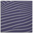 rug #531713 | square blue-violet animal rug