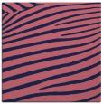 rug #531717 | square blue-violet animal rug