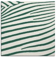 rug #531757 | square blue-green animal rug