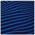 rug #531793 | square blue animal rug