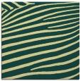rug #531829 | square yellow animal rug