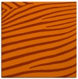 rug #531881 | square red-orange animal rug