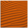 rug #531889 | square red-orange animal rug