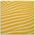 rug #531913 | square yellow animal rug