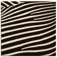 rug #531921   square brown animal rug