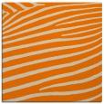rug #531941 | square orange animal rug