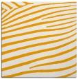 rug #531961 | square light-orange animal rug