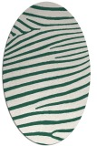 rug #532109 | oval stripes rug