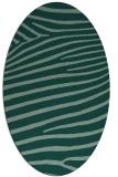 rug #532183 | oval animal rug