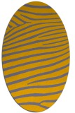 rug #532292 | oval stripes rug