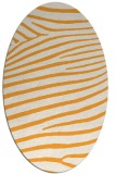 rug #532325 | oval stripes rug