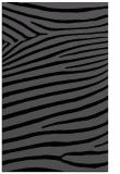 rug #532337 |  black stripes rug