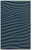 rug #532361 |  blue stripes rug
