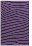 rug #532425 |  purple animal rug