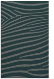 rug #532457 |  green stripes rug