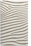 rug #532469 |  mid-brown stripes rug