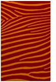 rug #532517 |  orange animal rug