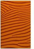 rug #532585 |  red-orange animal rug