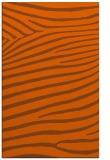 rug #532593 |  red-orange stripes rug