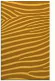 rug #532633 |  light-orange animal rug