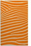 rug #532645 |  orange animal rug