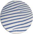 rug #532721 | round blue animal rug