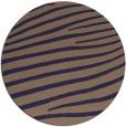 rug #532789 | round beige stripes rug