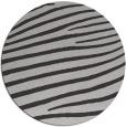 rug #532881   round red-orange stripes rug