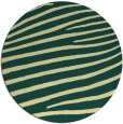 rug #532885 | round yellow stripes rug