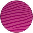 rug #532889 | round pink stripes rug