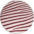 rug #532893 | round stripes rug