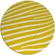rug #532957   round white animal rug