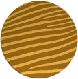 rug #532985 | round light-orange stripes rug