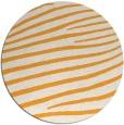 rug #533029   round light-orange rug