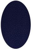 rug #535581 | oval blue-violet animal rug